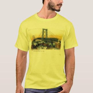 Williamsburg Bridge, New York City, 1905 Vintage T-Shirt