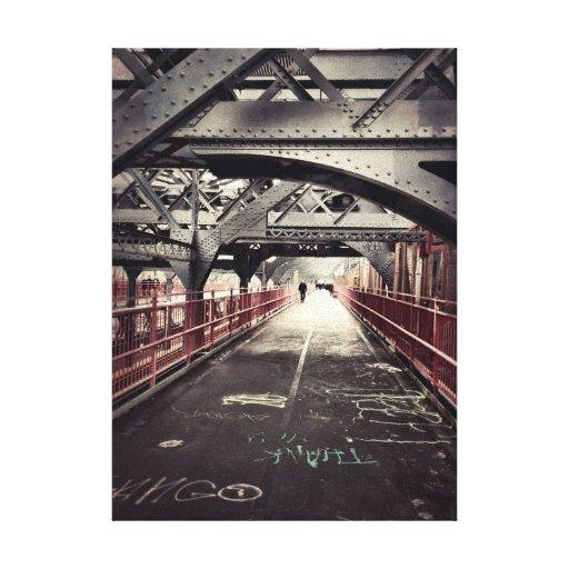 Williamsburg Bridge - New York City Canvas Print