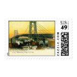 Williamsburg Bridge, New York City, vintage 1905