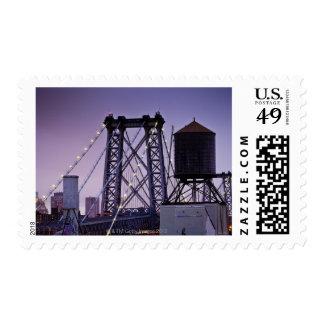Williamsburg Bridge Postage