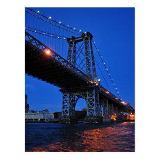 Williamsburg Bridge Postcard