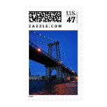 Williamsburg Bridge Stamp