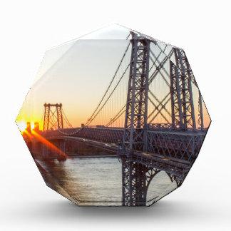 Williamsburg Bridge Sunset Brooklyn NYC Award