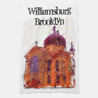 Williamsburg, Brooklyn, catedral Toallas De Mano
