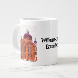 Williamsburg, Brooklyn, Cathedral Giant Coffee Mug