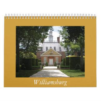 Williamsburg Calendar