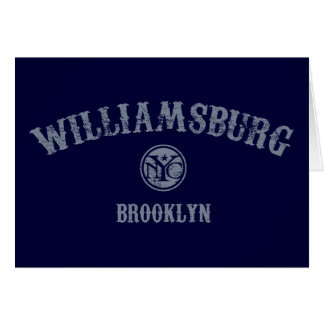 Williamsburg Card