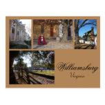 Williamsburg Collage 1 Post Cards