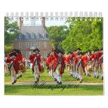 Williamsburg colonial 2013 calendarios de pared