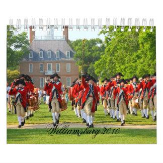 Williamsburg colonial 2013 calendario