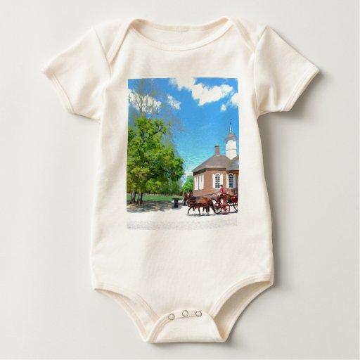 Williamsburg colonial body para bebé