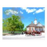 Williamsburg colonial postal