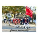 Williamsburg colonial postales