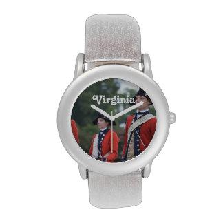 Williamsburg colonial relojes de pulsera