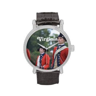 Williamsburg colonial relojes de mano