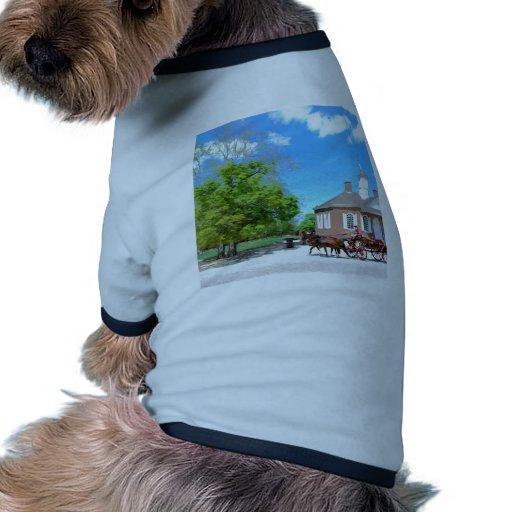 Williamsburg colonial ropa perro