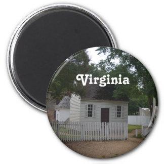 Williamsburg Homestead Fridge Magnet