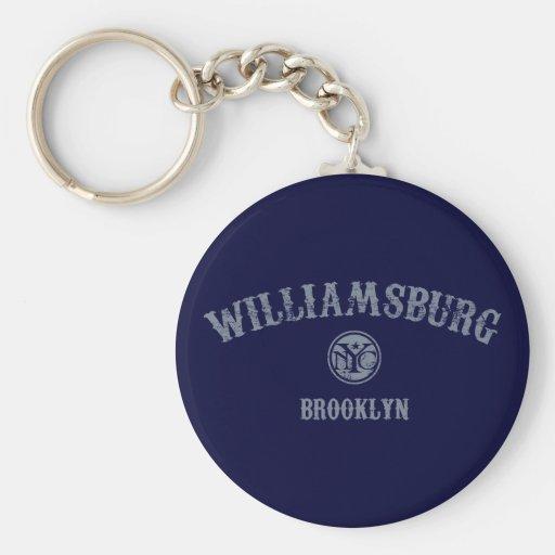 Williamsburg Keychain