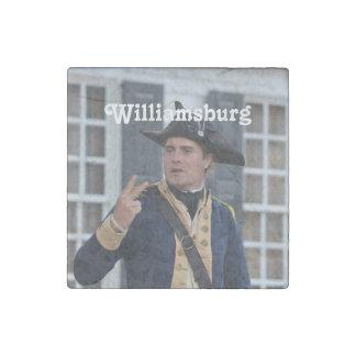 Williamsburg Soldier Stone Magnet