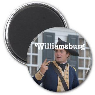 Williamsburg Soldier Magnets