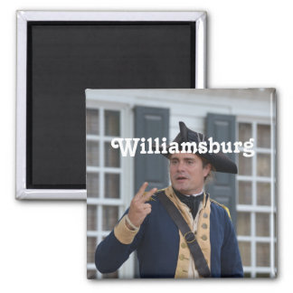 Williamsburg Soldier Refrigerator Magnets