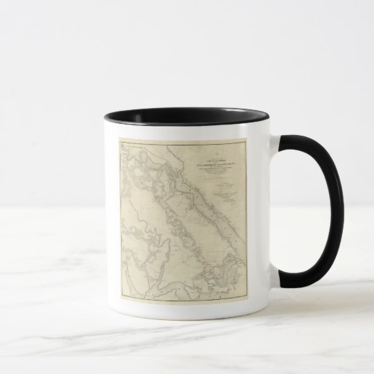 Williamsburg to the White House Mug