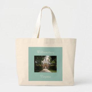 Williamsburg, Virginia Large Tote Bag
