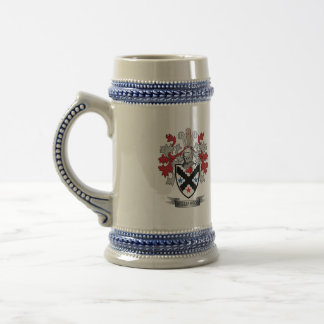 Williamson Family Crest Coat of Arms Beer Stein