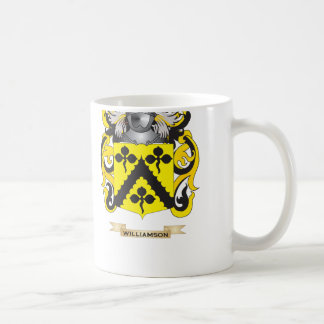 Williamson Family Crest (Coat of Arms) Coffee Mug
