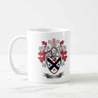 Williamson Family Crest Coat of Arms Coffee Mug