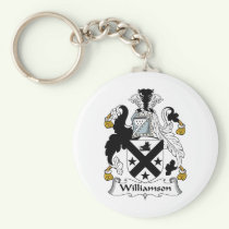 Williamson Family Crest Keychain