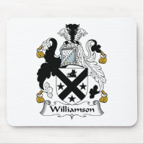 Williamson Family Crest Mousepad