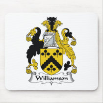 Williamson Family Crest Mousepad