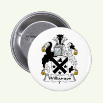 Williamson Family Crest Button