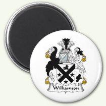 Williamson Family Crest Magnet