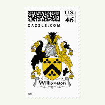 Williamson Family Crest Stamps