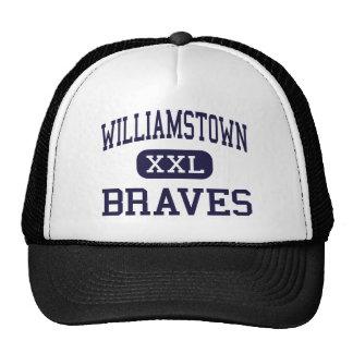 Williamstown - Braves - High - Williamstown Mesh Hats