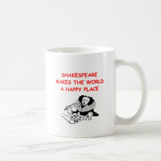 willian shakespeare mug
