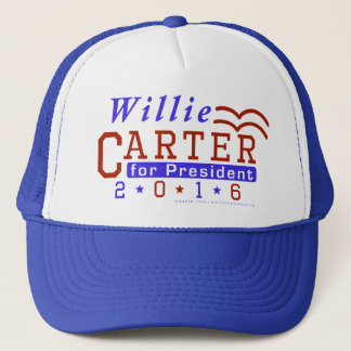 Willie Carter President 2016 Election Democrat Trucker Hat