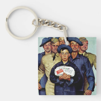 Willie Gillis' Package from Home Keychain