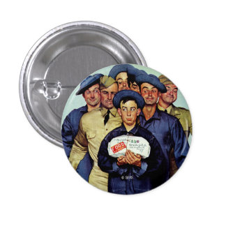 Willie Gillis' Package from Home Pinback Button