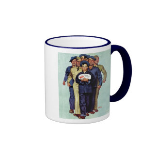 Willie Gillis' Package from Home Ringer Coffee Mug