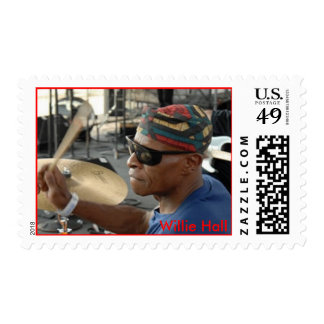 Willie Hall - Stamp