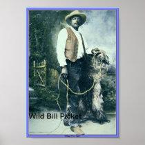 "Willie M. ""Bill"" Pickett Poster"