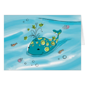 Willie-the-Whale Greeting Card