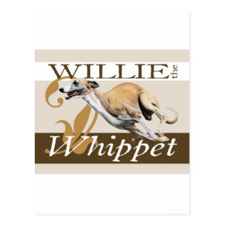 Willie the Whippet Post Cards