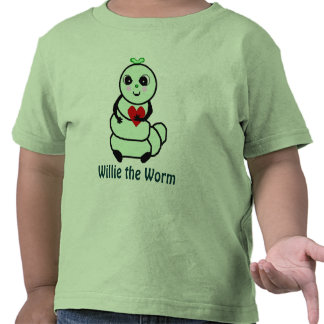 Willie the Worm Shirt