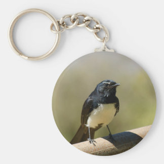 Willie Wagtail Keychain