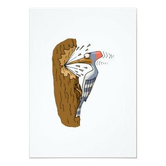 Willie Woodpecker Card