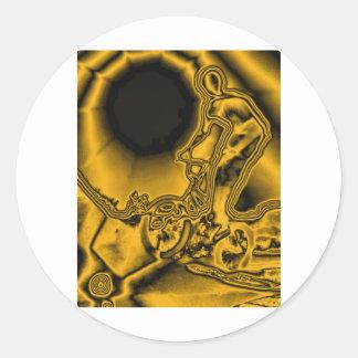 WillieBMX Radiate Classic Round Sticker